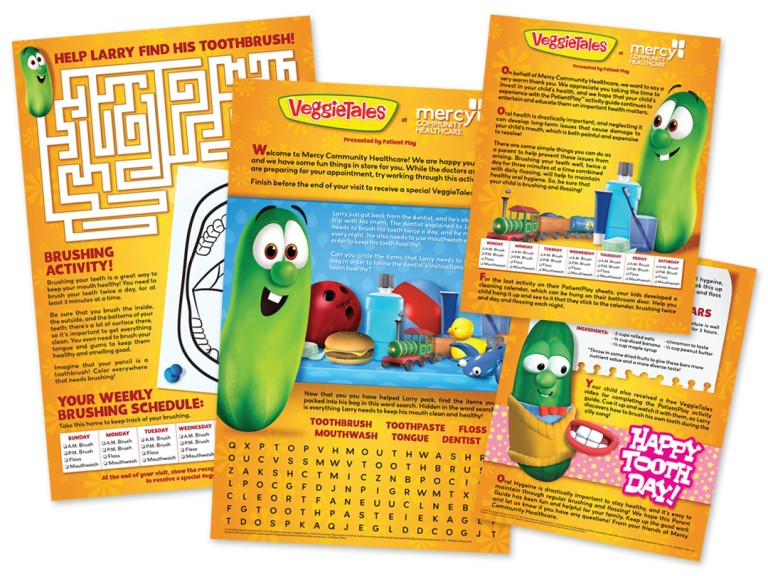 VeggieTales at Mercy Community Healthcare