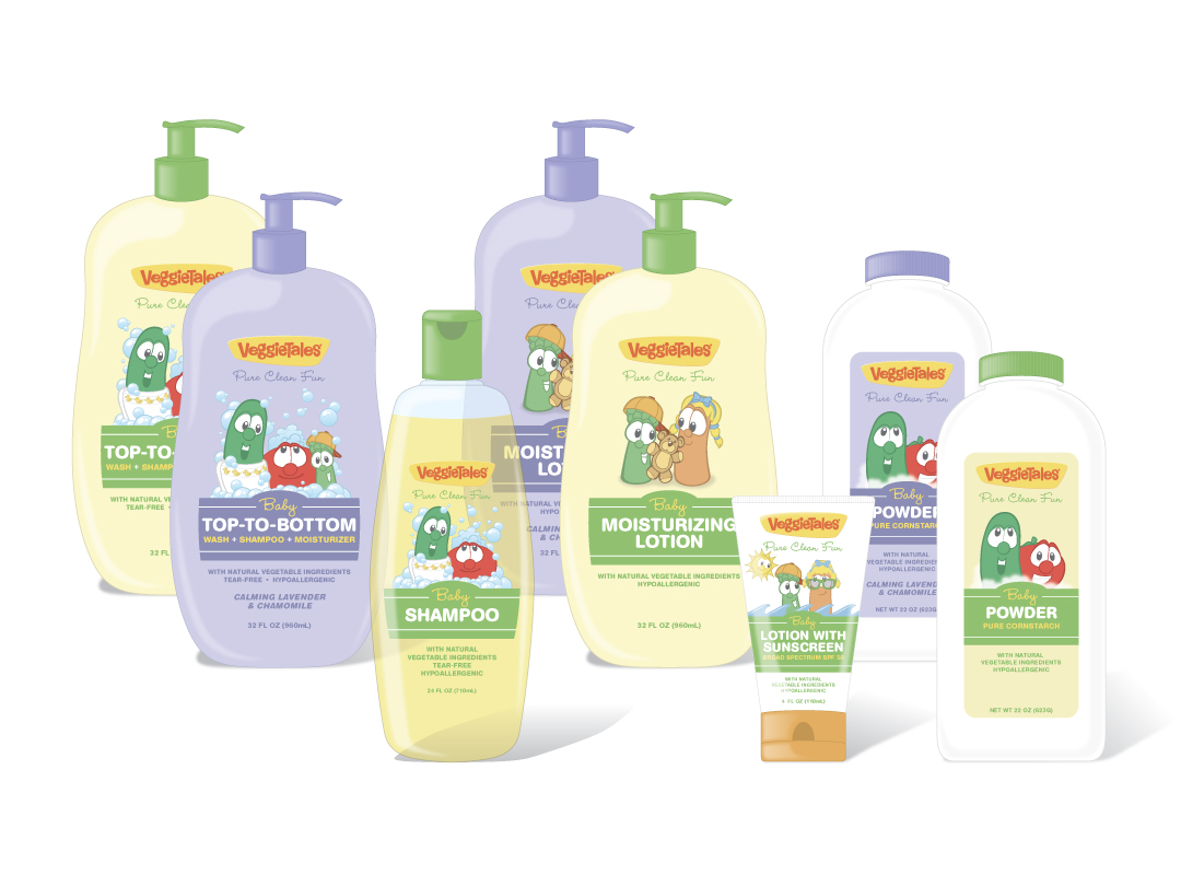 VeggieTales Personal Care Products