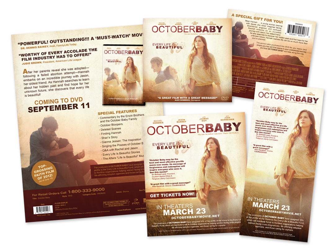 OctoberBaby Collateral