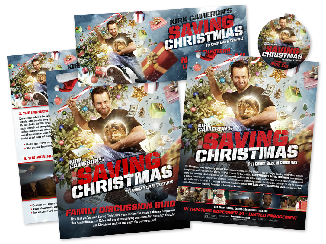 Saving Christmas.Kirk Cameron S Saving Christmas Trent Design