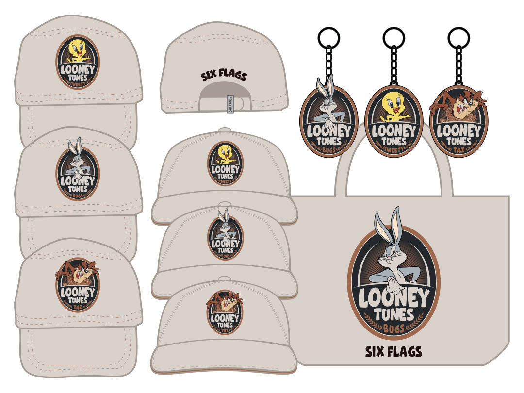 SF Looney Tunes_Hats