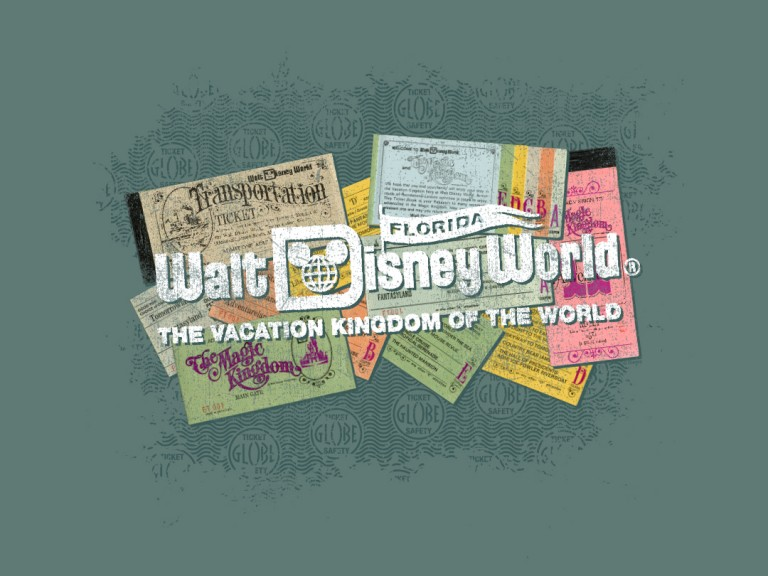 Disney Heritage Park Ticket T-Shirts