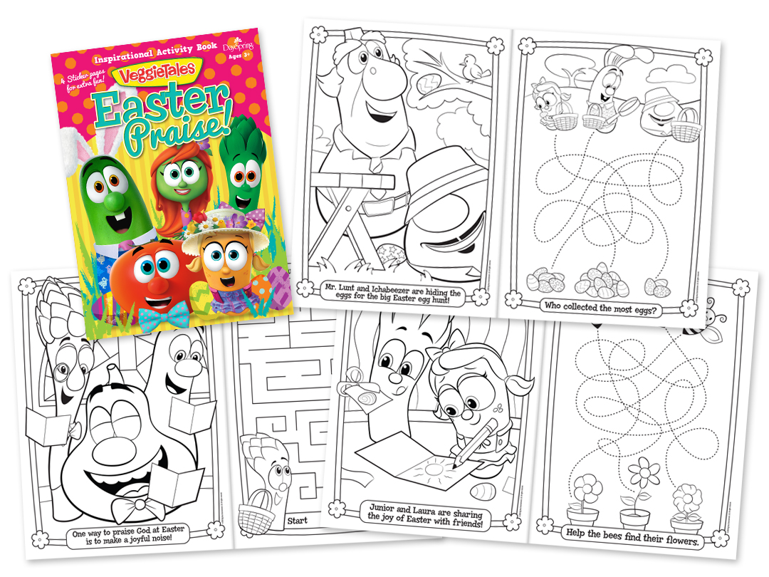 VT Easter Praise Activity And Coloring